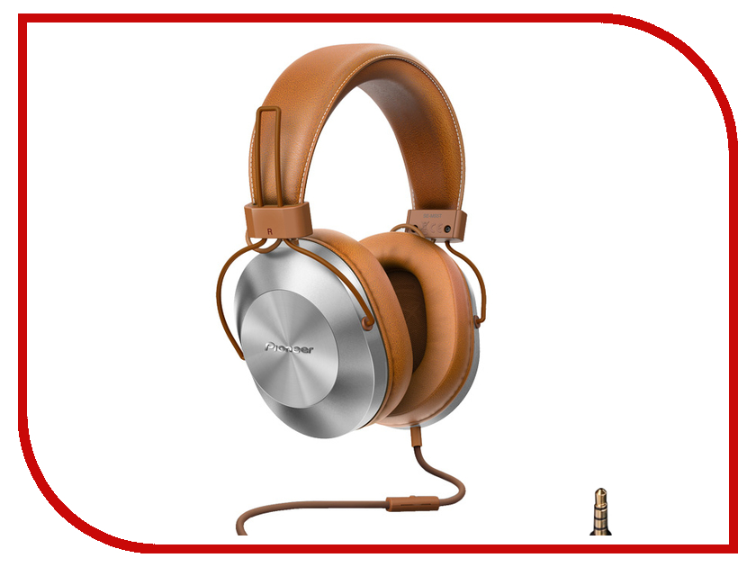 Гарнитура Pioneer SE-MS5T-T Brown<br>
