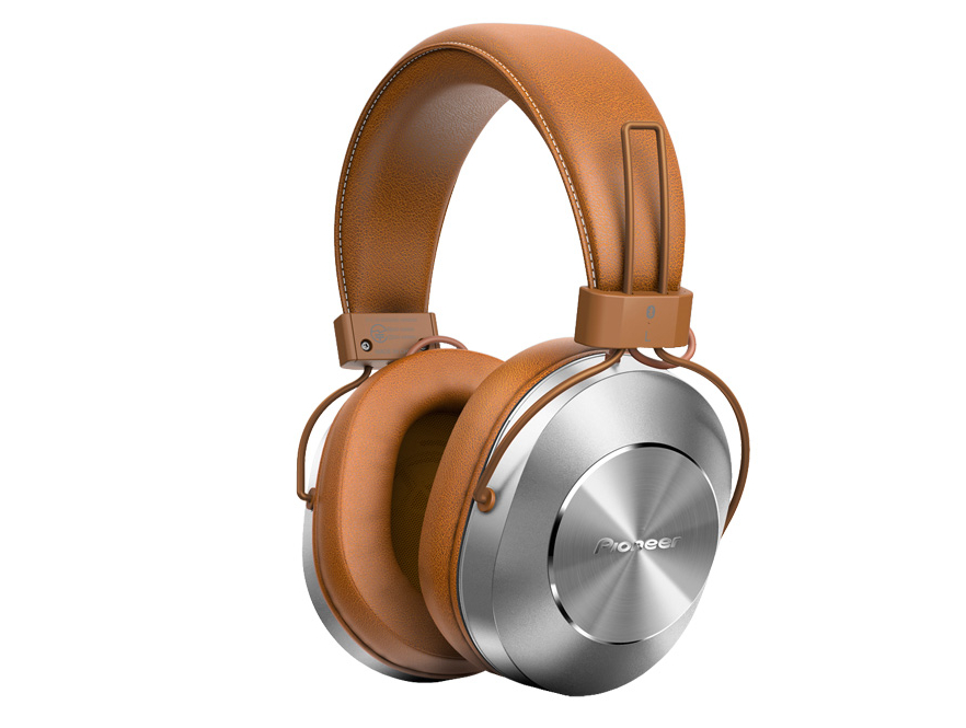 цена Наушники Pioneer SE-MS7BT-T Brown онлайн в 2017 году