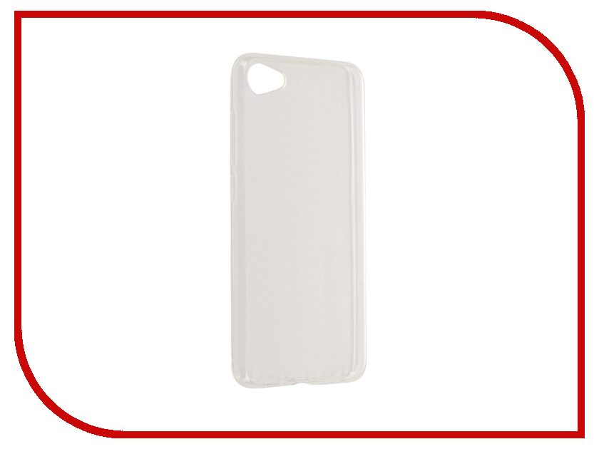 Аксессуар Чехол Meizu U10 Gecko Transparent-Glossy White S-G-MEIU10-WH<br>