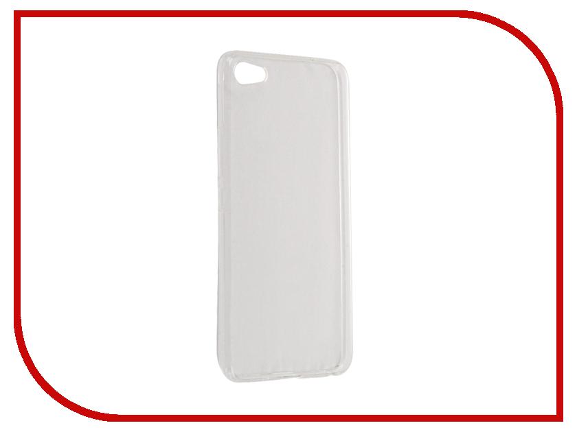 Аксессуар Чехол Meizu U20 Gecko Transparent-Glossy White S-G-MEIU20-WH