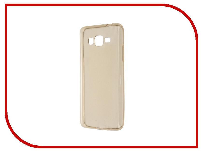 Аксессуар Чехол Samsung Galaxy J2 Prime G532 Gecko Transparent-Glossy Gold S-G-SGJ2PR-GOLD<br>