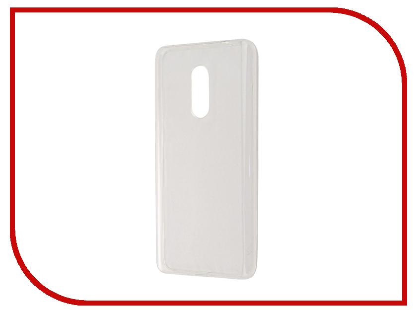Аксессуар Чехол Xiaomi Redmi Note 4 Gecko Transparent-Glossy White S-G-XIRMNOTE4-WH аксессуар чехол xiaomi redmi pro gecko transparent glossy white s g xirmpro wh