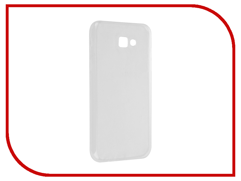 Аксессуар Чехол Samsung Galaxy A7 2017 BoraSCO Silicone Transparent цена и фото