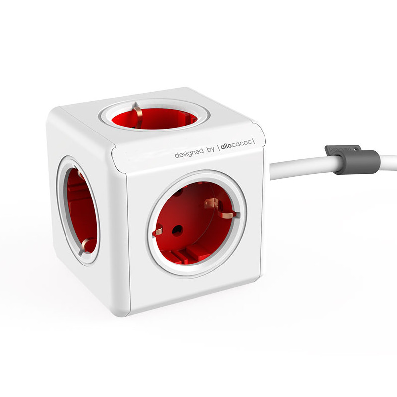 Удлинитель Allocacoc Extended 3m Red 1307/DEEXPC