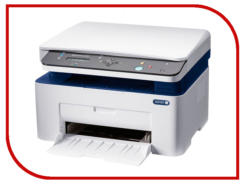 МФУ Xerox WorkCentre 3025BI xerox workcentre 3025bi ч б а4 20ppm