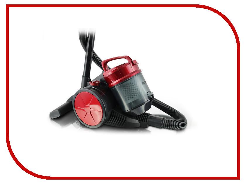 Пылесос Sinbo SVC-3480Z Red-Black shivaki svc 1438sky blue пылесос