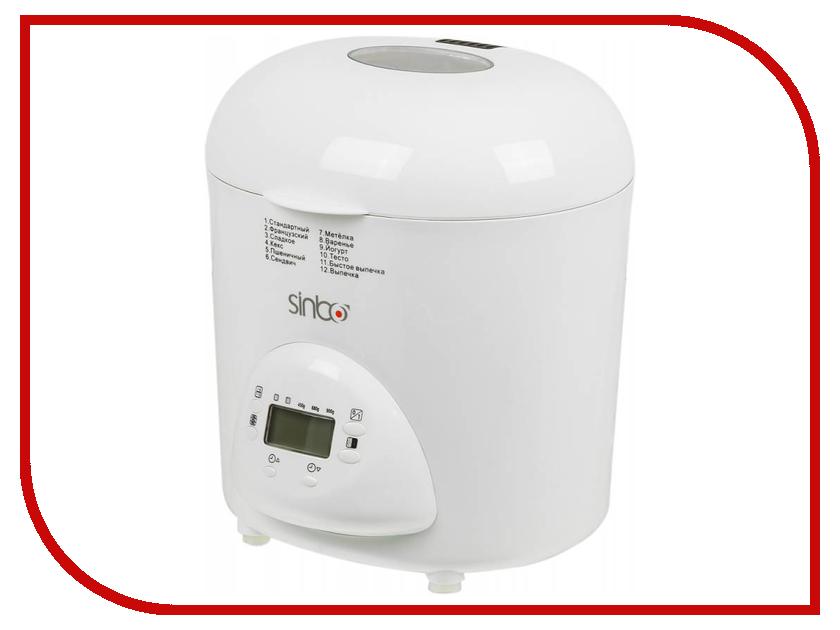 Хлебопечь Sinbo SBM-4716 White