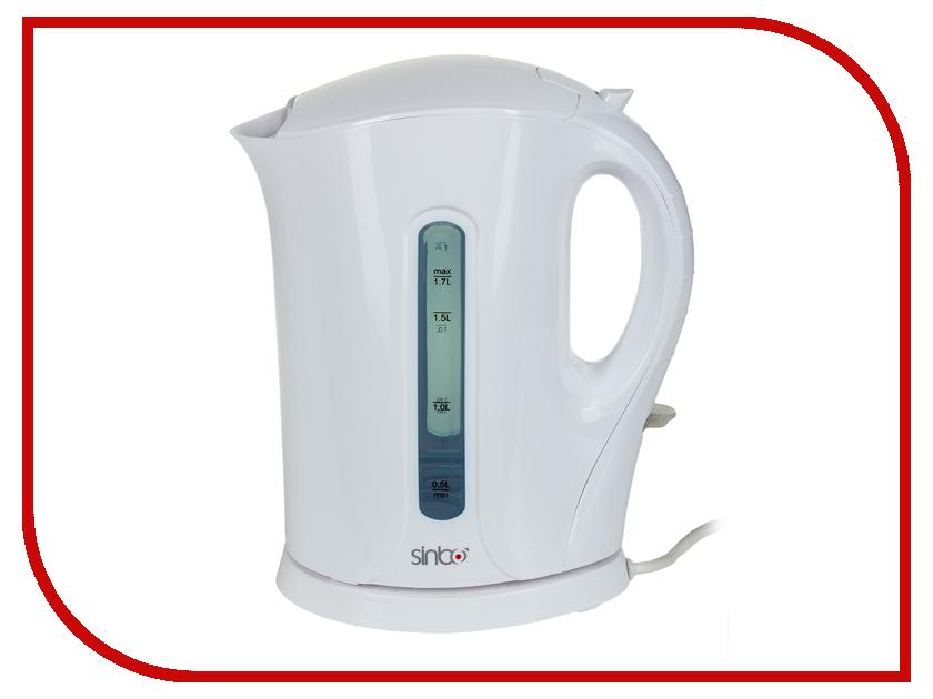 Чайник Sinbo SK-7315 White чайник электрический sinbo sk 7323 2200вт белый и синий