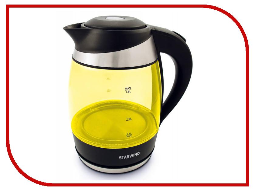 Чайник Starwind SKG2215 Yellow-Black<br>