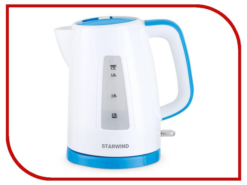 Чайник Starwind SKP3541 White-Blue<br>
