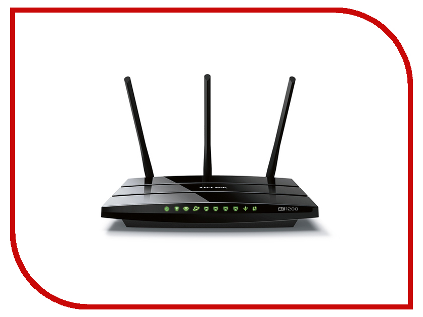 Wi-Fi роутер TP-LINK Archer C1200 wi fi роутер tp link archer mr200 ac750