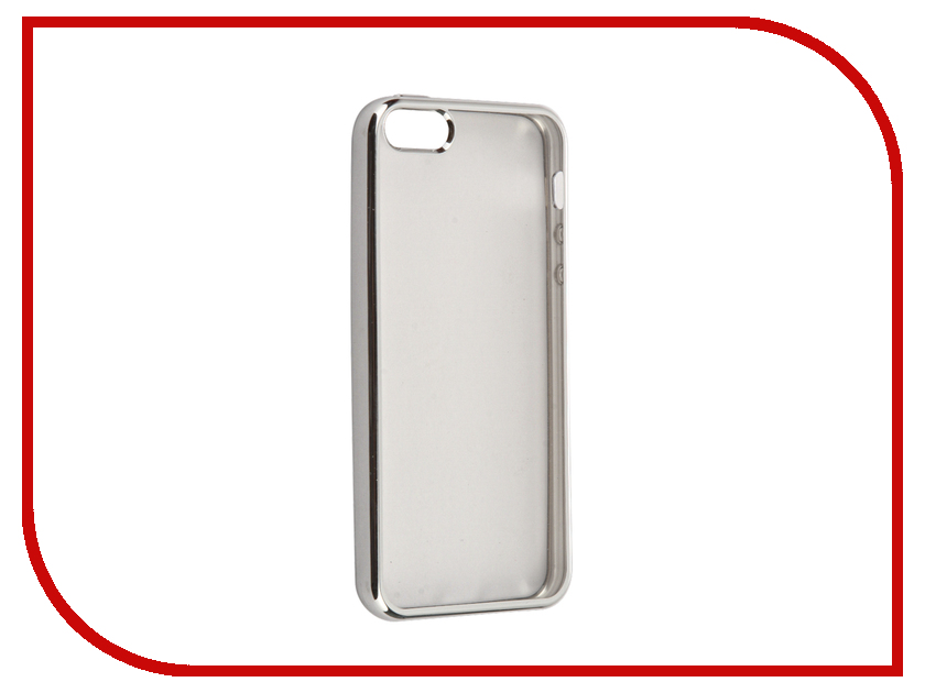 Аксессуар Чехол iBox Blaze для APPLE iPhone 5 / 5S / SE Silver apple iphone 5 в китае