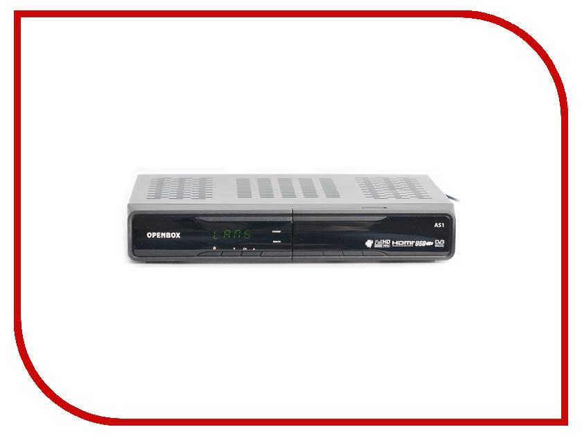 Комплект спутникового телевидения Openbox AS1 Black