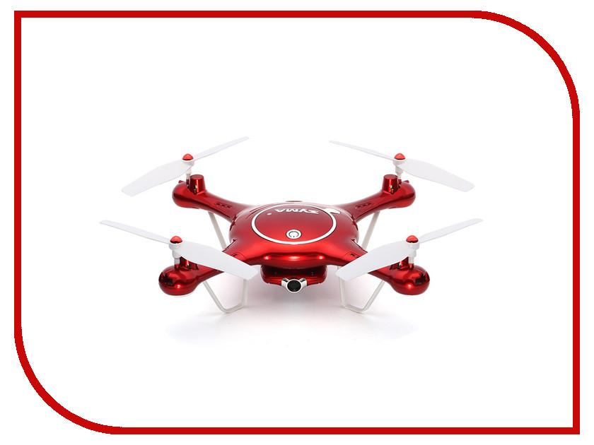 Квадрокоптер Syma X5UW syma x5uw drone with 720p hd wifi camera real time transmission fpv quadcopter 2 4g 4ch rc helicopter uav quadrocopter toys