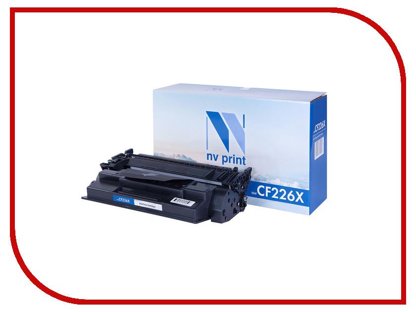Картридж NV Print HP CF226X для LaserJet Pro M402d/M402dn/M402dne/M402dw/M402n/M426dw/M426fdn/M426fdw картридж t2 tc h26x для hp laserjet pro m402d m402n m402dn m426dw m426fdn m426fdw