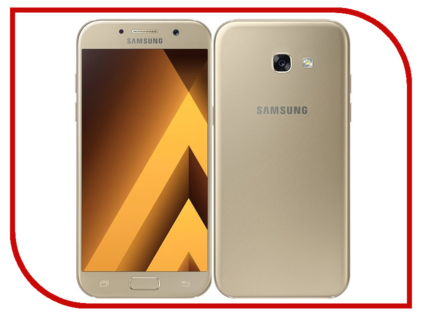Сотовый телефон Samsung SM-A520F Galaxy A5 2017 Gold стилус other apple ipad samsung galaxy s3 i9300 21 eg0628