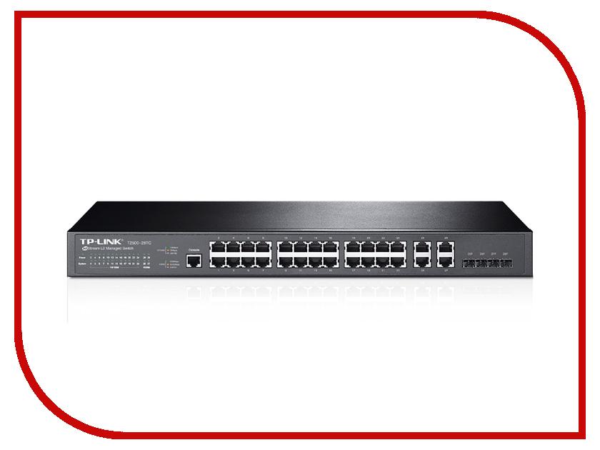 TP-Link Коммутатор TP-LINK T2500-28TC