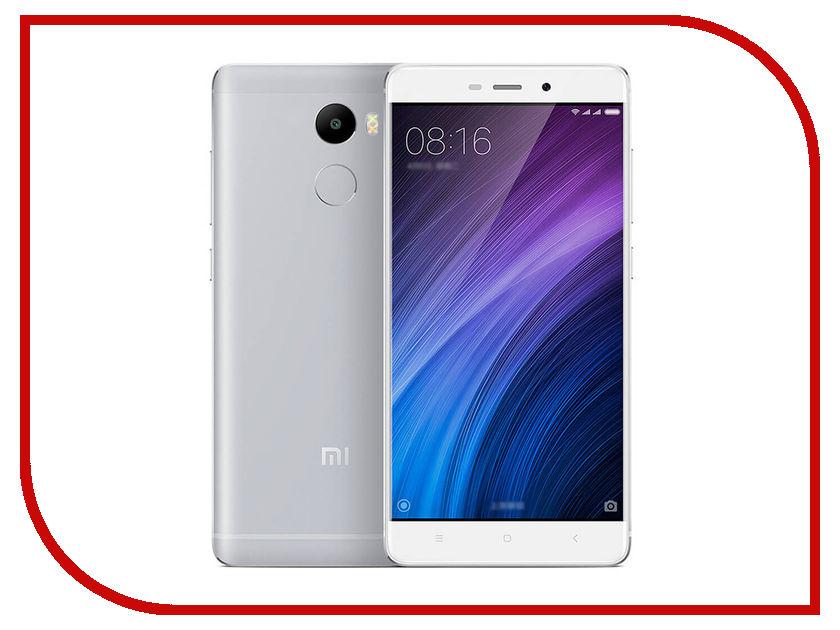 Сотовый телефон Xiaomi Redmi 4 2Gb RAM 16Gb Silver<br>