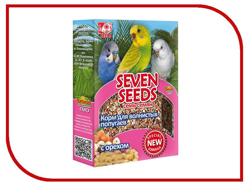 Корм Seven Seeds Special с орехом 500g для волнистых попугаев