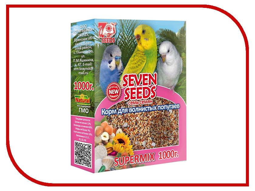 Seven Seeds Supermix 1Kg для волнистых попугаев