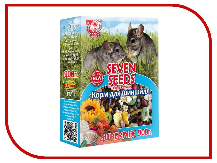 Корм Seven Seeds Supermix 900g для шиншилл<br>