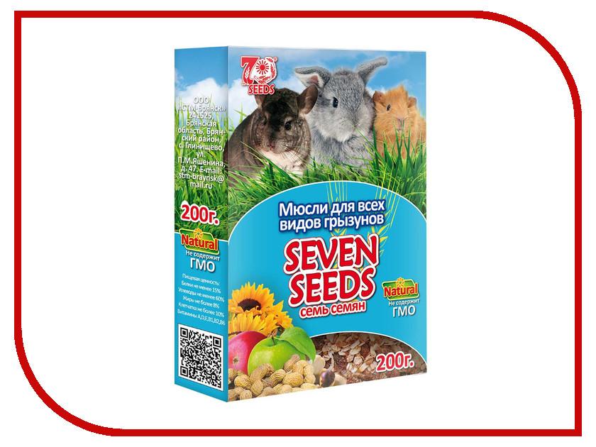Корм Seven Seeds Мюсли 200g для всех видов грызунов<br>