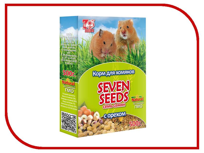 Корм Seven Seeds с орехом 500g для хомяков<br>