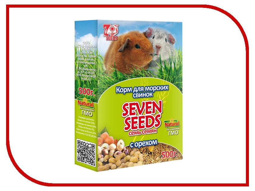 Корм Seven Seeds с орехом 500g для морских свинок<br>