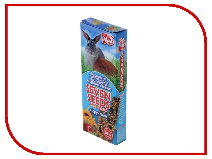 Лакомство Seven Seeds Палочки с фруктами 2шт для кроликов и морских свинок<br>