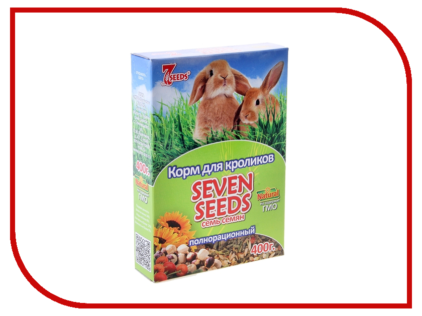 Фото Seven Seeds 400g для кроликов. Купить в РФ