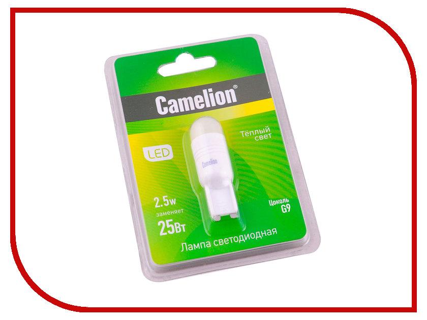 Лампочка Camelion G9 2.5W 220V G9 3000K 195 Lm LED2.5-G9/830/G9 11387<br>