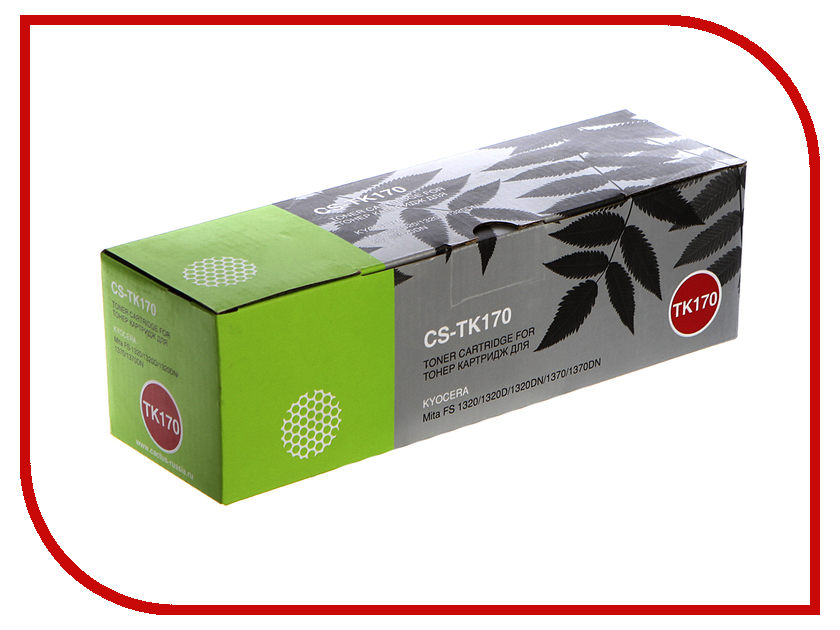 Картридж Cactus (Kyocera CS-TK170 Black для Kyocera Mita FS 1320/P2135D