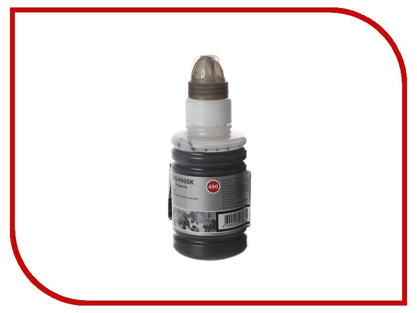 Тонер Cactus CS-GI490BK Black для Canon Pixma G1400/G2400/G3400 тонер cactus cs ce285as black