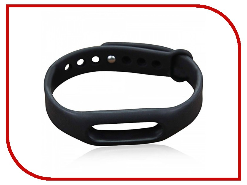 Aксессуар Ремешок Apres for Xiaomi Mi Band 2 Black