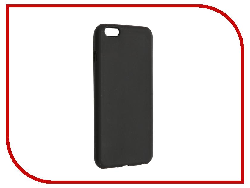 Аксессуар Чехол Cojess Silicone TPU 0.8mm для APPLE iPhone 6 Plus / 6s Plus Black Mate
