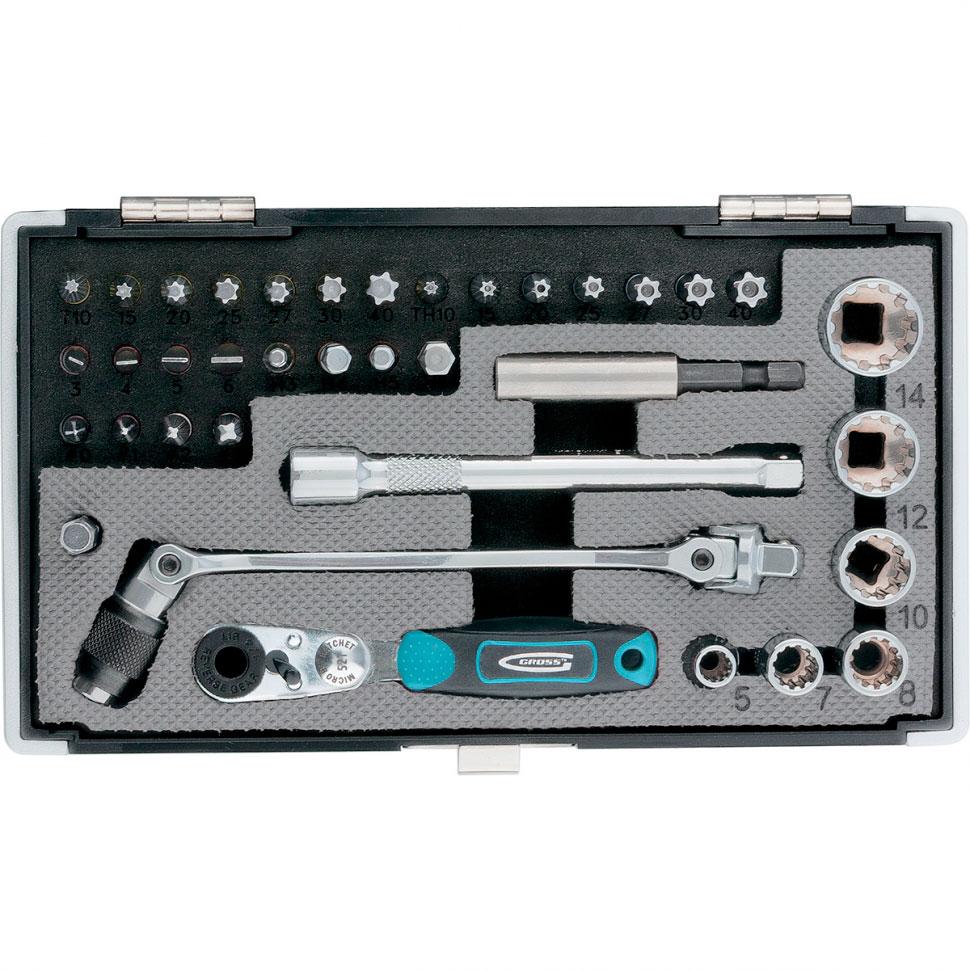 Набор инструмента Gross 11625