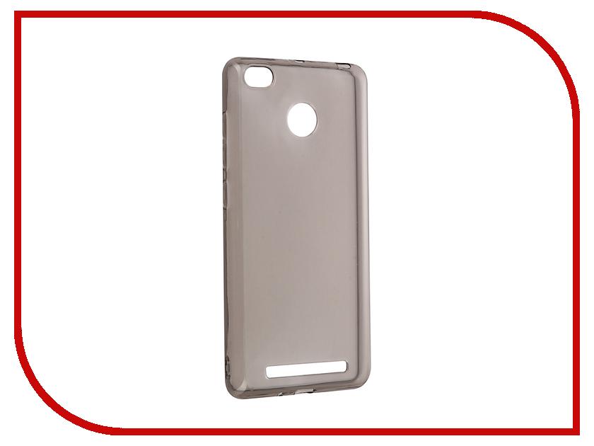 Аксессуар Чехол Xiaomi Redmi 3s Zibelino Ultra Thin Case Black ZUTC-XMI-RDM-3S-BLK<br>