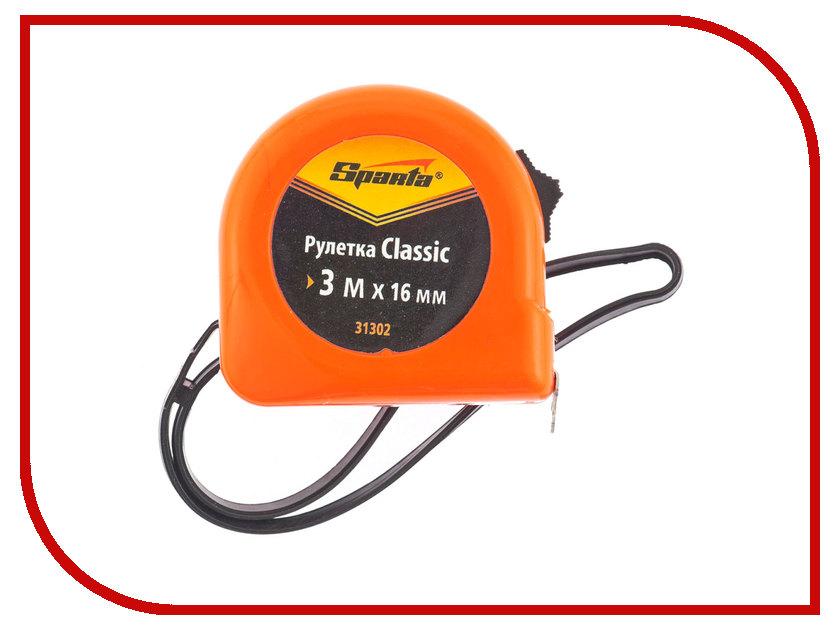 Рулетка Sparta Classic 3м 31302