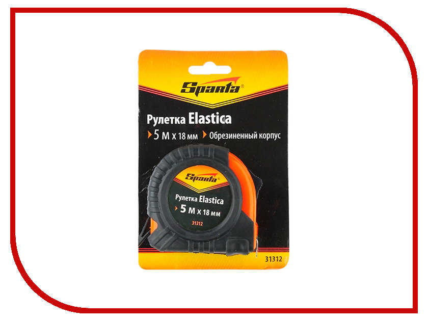 Рулетка Sparta Elastica 5м 31312<br>