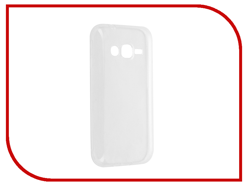 Аксессуар Чехол Samsung Galaxy J1 mini Prime SM-J106F Zibelino Ultra Thin Case White ZUTC-SAM-J1mini-PRM-WHT<br>