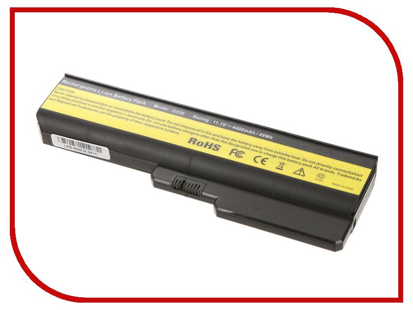 Аккумулятор 4parts LPB-G550 для IBM Lenovo IdeaPad G555/G550/G530/B550/G430/G455/B460/G450 Series 11.1V 4400mAh аналог PN: L08S аккумулятор tempo lpb s10 11 1v 4400mah for lenovo ideapad s9e s10e s10 1 s12 series
