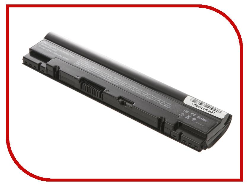 Аккумулятор 4parts LPB-1025 для ASUS Eee PC 1025/1025C/1025CE/1225B/1225C/R052 Series 10.8V 4400mAh аналог PN: A31-1025/A32-102<br>