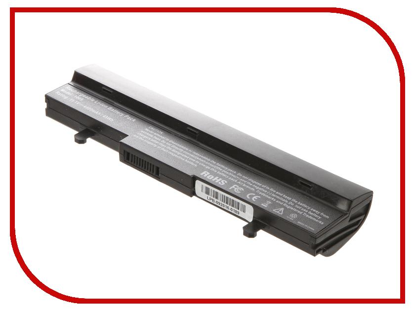 Аккумулятор 4parts LPB-1005 для ASUS Eee PC 1001PX/1001HA/1005HA/1005HAG/1005HE/1005HR/1005PEB/1101HA Series 11.1V 4400m