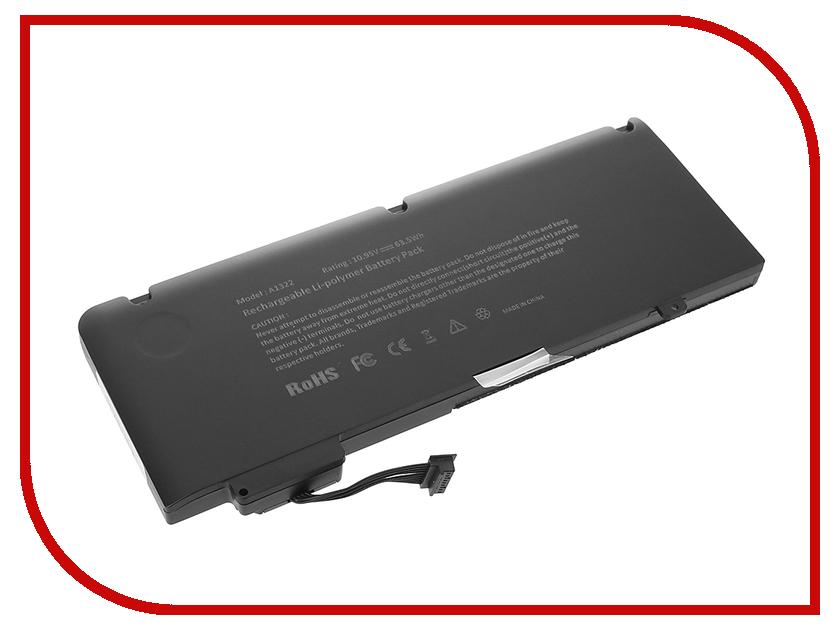 Аксессуар 4parts LPB-AP1322 для APPLE MacBook Pro 13.3 10.95V 5500mAh 60Wh аналог PN: A1322/A1278