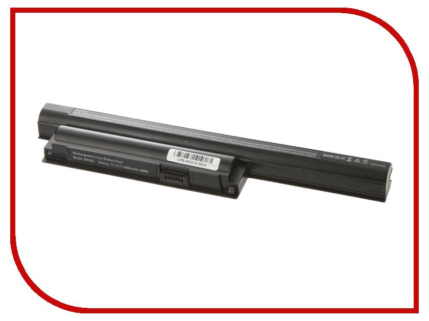 Аккумулятор 4parts LPB-BPS26-NOCD для Sony VAIO VPCCA/VPCCB/VPCEG/VPCEH/VPCEJ/SVE Series 11.1V 4400mAh аналог PN: VGP-BPS26/VGP-BPL26