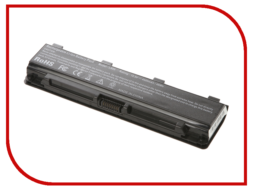 Аккумулятор 4parts LPB-PA5024 для Toshiba Satellite C800/C840/C850/C870/L800/L805/L830/L835/L840/L845/L850/L855/M800/M845/P800 аналог PN: PA5024/PA5023/PA5025/PA5023/PA5026/PA5027