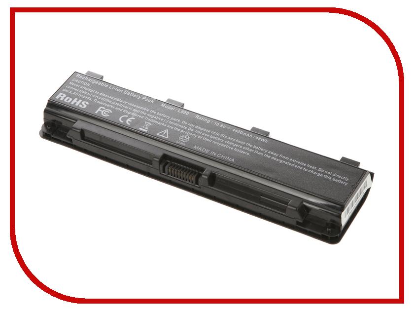 Аккумулятор 4parts LPB-PA5024 для Toshiba Satellite C800/C840/C850/C870/L800/L805/L830/L835/L840/L845/L850/L855/M800/M845/P800 аналог