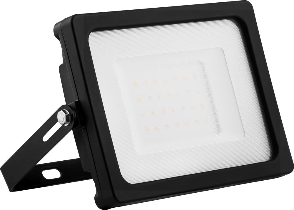 купить Прожектор Feron LL-920 2835 SMD 30W 6400K IP65 Black 32101 по цене 493 рублей