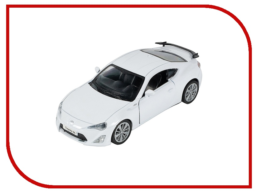 Игрушка PitStop Toyota GT-86 White PS-0616311-W<br>