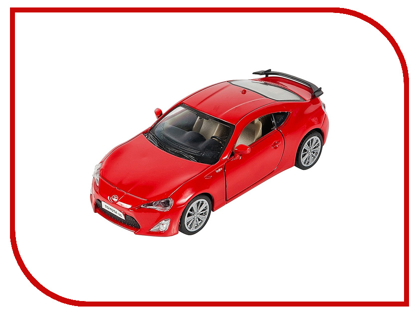 Машина PitStop Toyota GT-86 Red PS-0616311-R машина pitstop bmw x6 red ps 444002 r